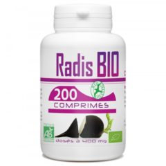 Radis noir racine – 200 comprimés bio