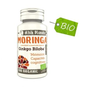 Moringa et Ginkgo Biloba