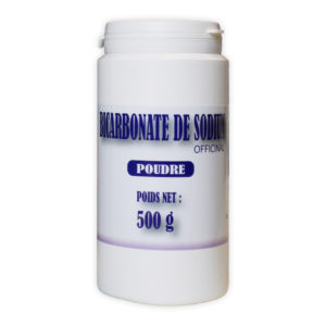 Bicarbonate de Sodium (officinal) 500gr